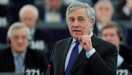 El excomisario italiano Antonio Tajani (PPE), nuevo presidente de la Eurocámara