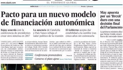 Las portadas de los periódicos de hoy, miércoles 18 de enero de 2017