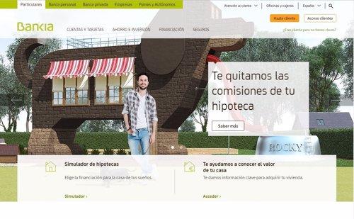 bankia lanza una herramienta para calcular el precio de