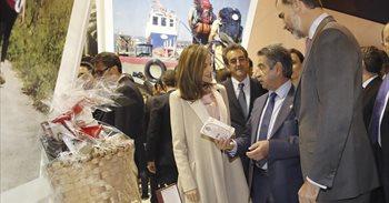 Los Reyes muestran su apoyo a las empresas españolas