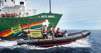 Greenpeace pide amparo al Constitucional por el incidente con la Armada...