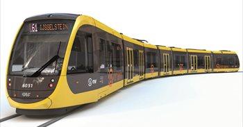 CAF suministrará otros 22 trenes al tranvía de Utrech