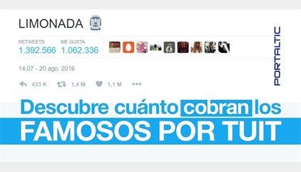 ¿Cuánto cobran los famosos por 'tuit'? Te sorprenderá descubrir lo caros que salen sus 140 caracteres