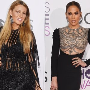 Duelo de estilo entre Jennifer Lopez y Blake Lively en los People Choice Awards