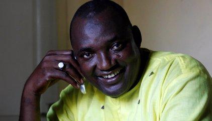 Barrow tomará posesión como presidente de Gambia en la Embajada en Senegal este jueves