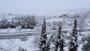 Carreteras cortadas y clases suspendidas en varios municipios de Málaga por la fuerte nevada