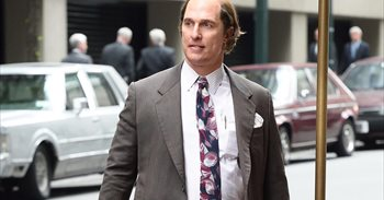 La nueva transformación de Matthew McConaughey para Gold