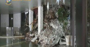 Un vídeo muestra el interior del Hotel Rigopiano, sepultado por una...