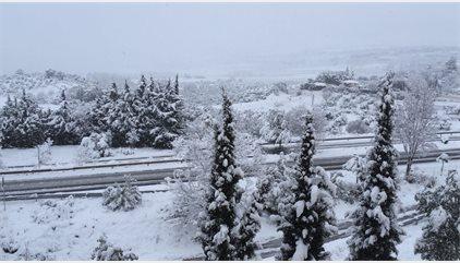 La ola de frío obliga al cierre de colegios en Andalucía, Murcia y Castilla-La Mancha