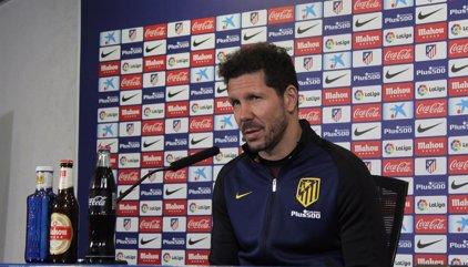"""Simeone: """"Me pone contento la respuesta del equipo ante un partido importante"""""""