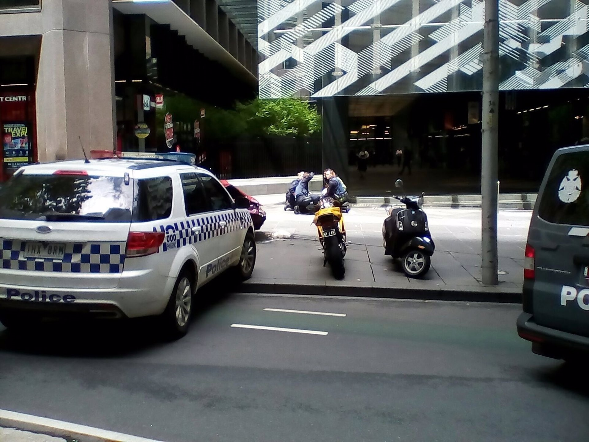 Un mallorquín en el atropello deliberado de Melbourne: 'La gente estaba muy asustada, con pánico'