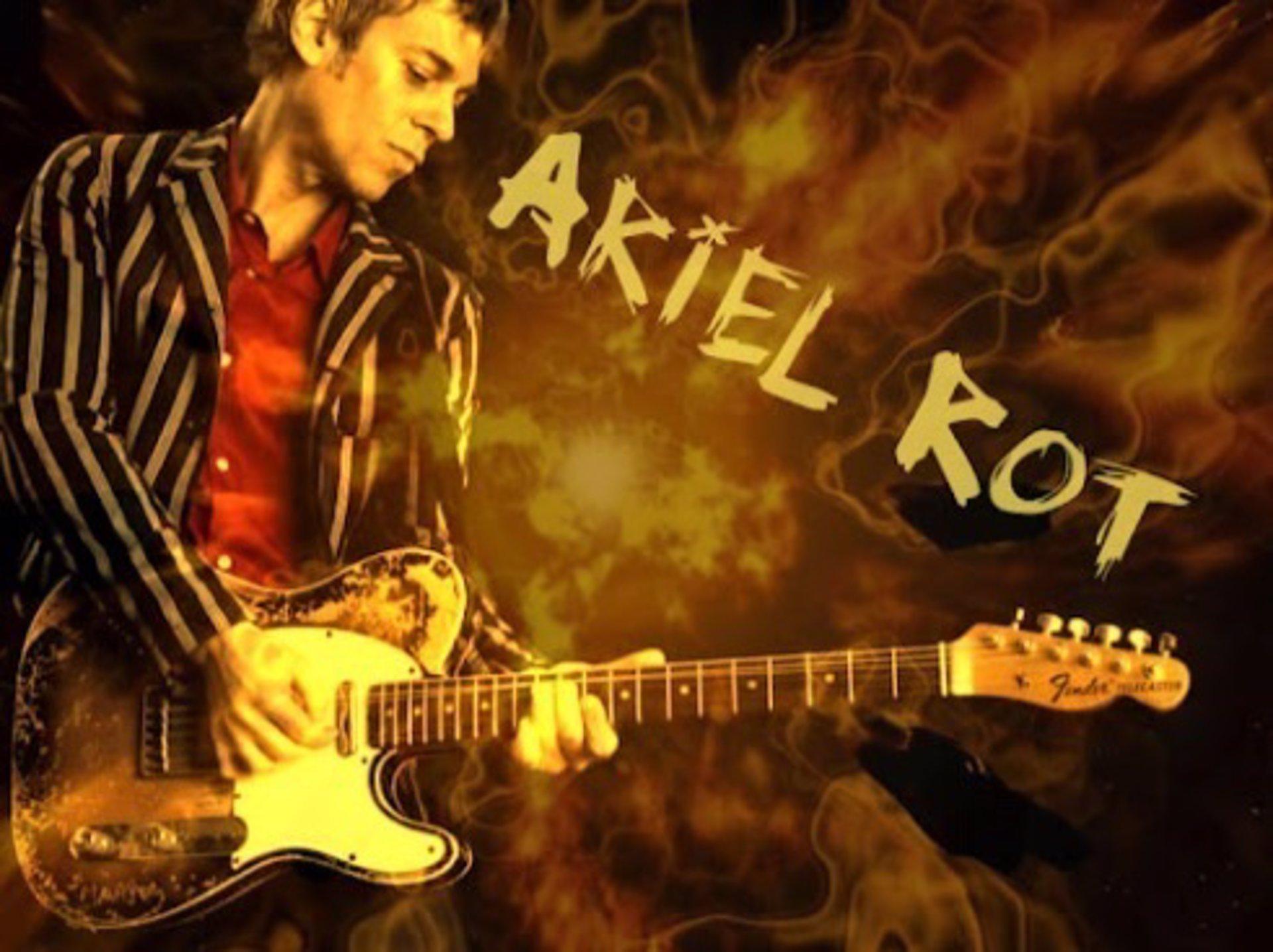 Ariel Rot pondrá este viernes el broche final a los conciertos de Sant Sebastià