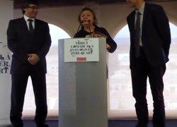Puigdemont defensa honrar els creadors a Catalunya a l'homenatge a Joan Oliver (EUROPA PRESS)