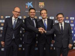 CaixaBank i el FC Barcelona renoven l'acord de patrocini quatre anys més (CAIXABANK/DAVID CAMPOS)