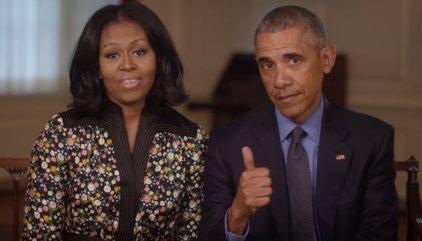 Los Obama anuncian una red internacional de centros cívicos a su nombre y con sede en Chicago