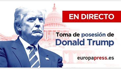 Investidura Donald Trump | Directo | Casi 100 detenidos por los altercados durante la toma de posesión de Trump