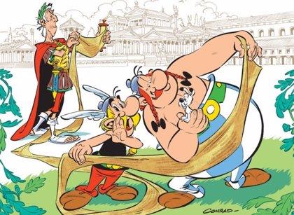 El nuevo cómic de Astérix saldrá a la venta el 19 de octubre, será fuera de la Galia y tendrá a Obelix como protagonista