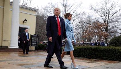 La investidura de Donald Trump en imágenes