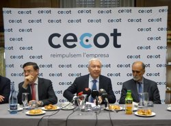 Cecot s'adhereix al manifest institucional per a la mediació (EUROPA PRESS)