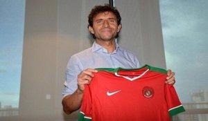 Luis Milla, nuevo seleccionador de Indonesia