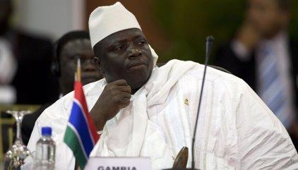 Jamé anuncia que abandona el cargo de presidente de Gambia