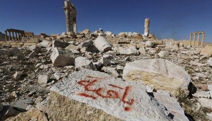 Palmira, destruida