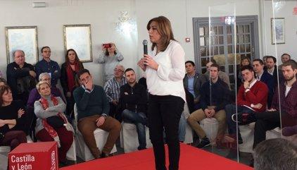 """Díaz defiende que en el PSOE """"no sobra nadie"""" y se necesita gente comprometida"""