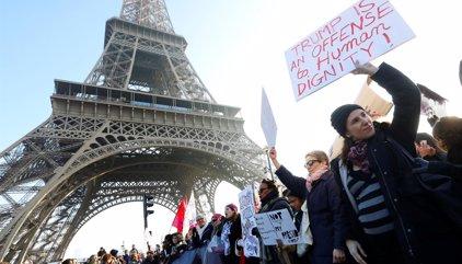 Mujeres de todo el mundo toman las calles para protestar contra Trump