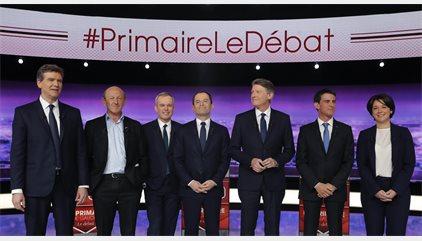 La izquierda francesa llega a duras penas a su primera cita de hoy con las urnas