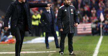 """Simeone: """"Venimos creciendo partido tras partido acercándonos a la..."""