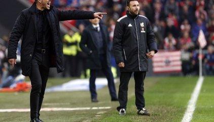 """Simeone: """"Venimos creciendo partido tras partido acercándonos a la regularidad del juego"""""""