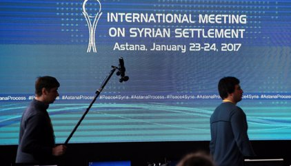 Arrancan las conversaciones sobre el futuro de Siria en Astaná