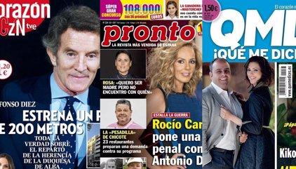 La guerra entre Rocío y Antonio David, Kiko Hernández por fin es papá y Rosa  López quiere ser mamá también