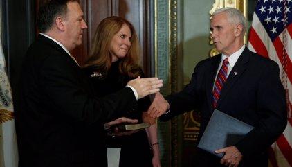 Mike Pompeo toma posesión como nuevo director de la CIA tras ser confirmado por el Senado