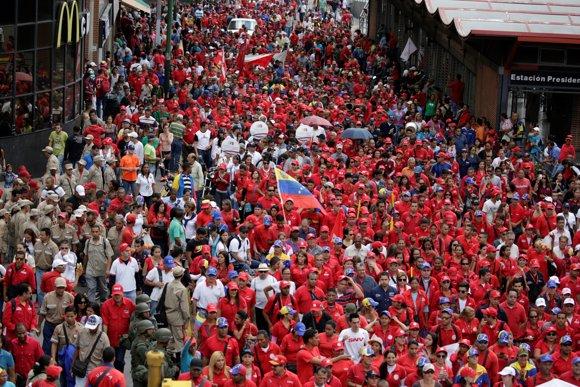 PROTESTAS CHAVISTAS