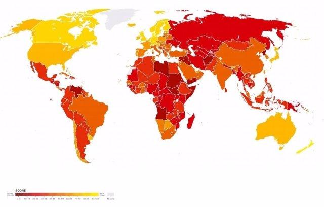 índice De Corrupcion 2016