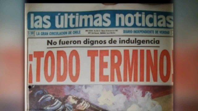 Portadas chilenas sobre el fin de los psicópatas de Viña del Mar