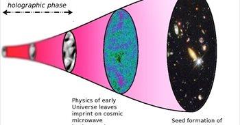 El Universo se comporta como un holograma