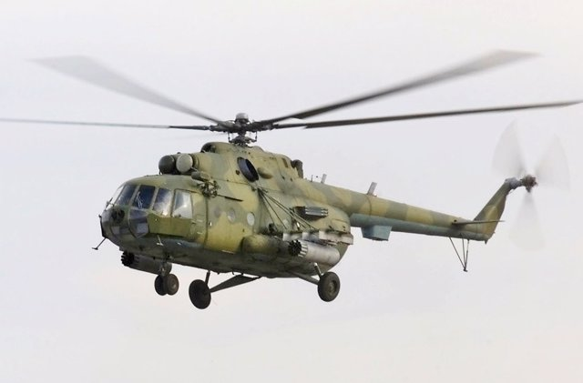 Helicóptero militar Mi17