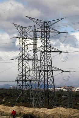 Electricidad, energía, cables, torres eléctricas, corriente