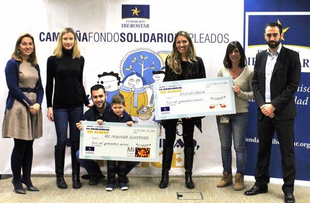 Entrega del Fondo solidario de empleados de Iberostar