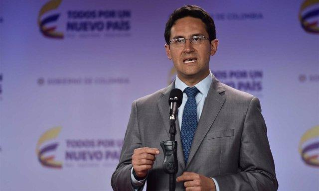 Camilo Enciso, secretario de Transparencia de Colombia