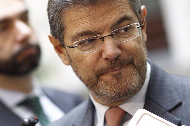 El ministro de Justicia, Rafael Catalá, inaugura una jornada