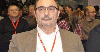 """El presidente aragonés dice que """"muchos sectores"""" sociales """"nos están..."""