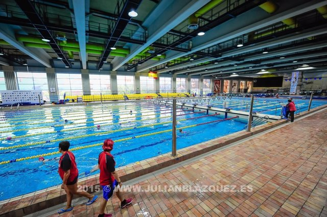 reabre la piscina ol mpica del centro de nataci n mundial