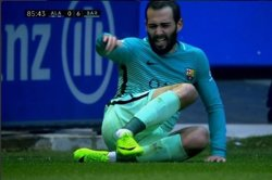 Aleix Vidal padece una