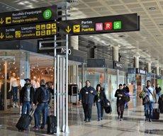 L'Aeroport de Barcelona va transportar més de 2,8 milions d'usuaris el gener, un 11,4% més (AENA)