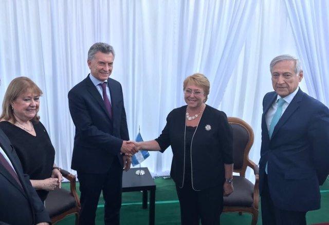 Macri y Bachelet