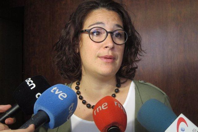 La regidora de Feminismes y LGTBI a Barcelona, Laura Pérez