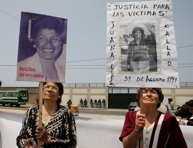María Elena Moyano, Madre Coraje